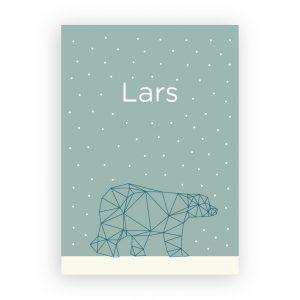Geboortekaart Lars