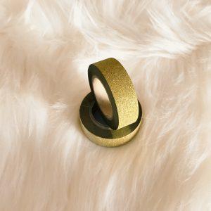 washi tape glitter goud
