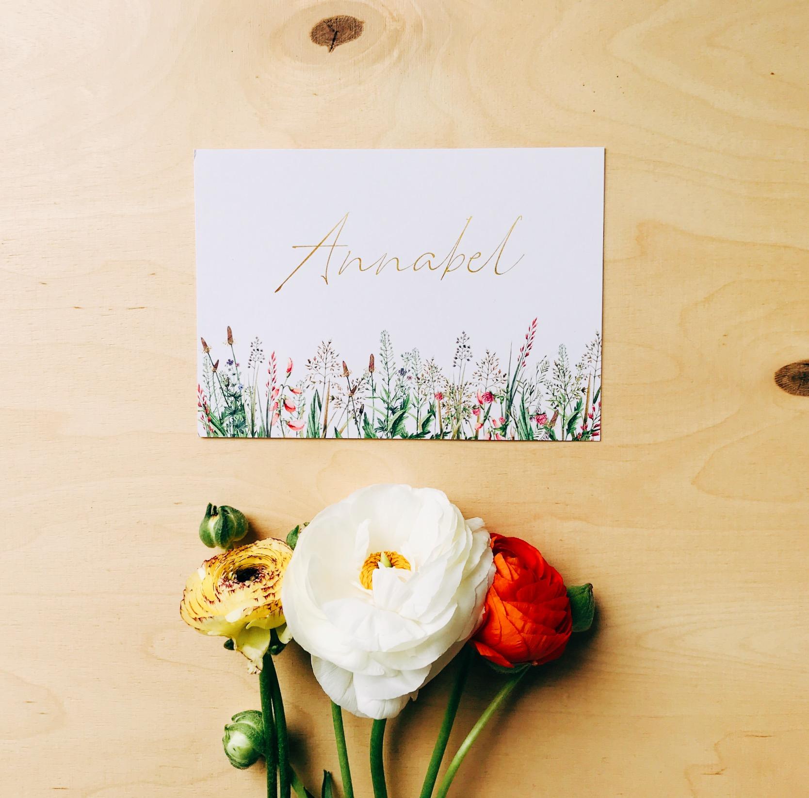 Botanisch geboortekaartje