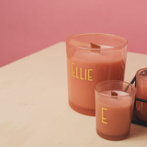 geurkaarsje roze doopsuiker